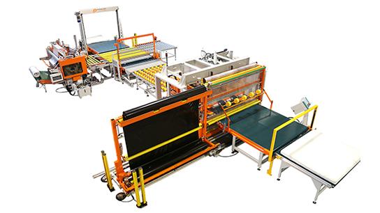 La Mistral 3B MT + Press + Ander Roll est une machine permettant l'emballage de matelas individuels et doubles