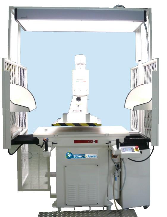 Presse de découpe à bras tournant automatique hydraulique – Modèle FR