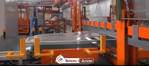 Machine emballage menuiserie industrielle