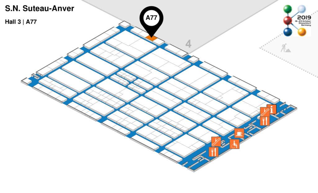 K2019: Suteau-Anver est présent dans le Hall 3 stand A77
