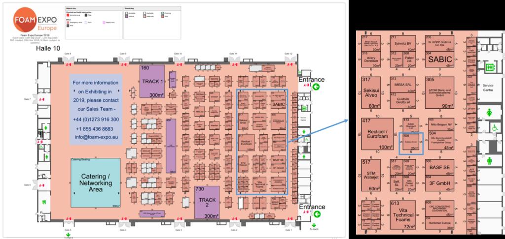Foam Expo Europe: Suteau-Anver est présent dans le Hall 10 stand 508