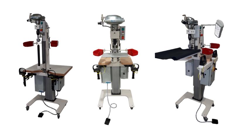 Machines pour la pose des accessoires, le rivetage, le sertissage, le perçage