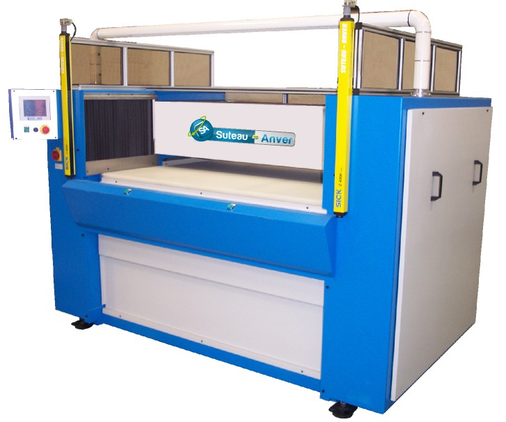 Presse de découpe à pont et table mobiles hydraulique – Modèle PTMV
