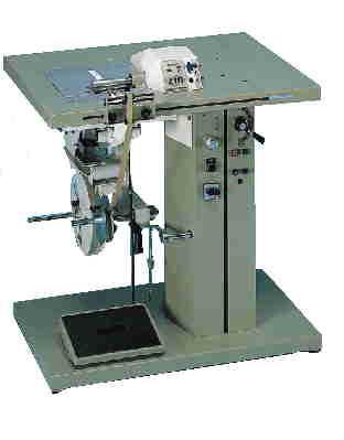 Machine à remplier automatique des bords avec ou sans ruban adhésif et cordon de renfort