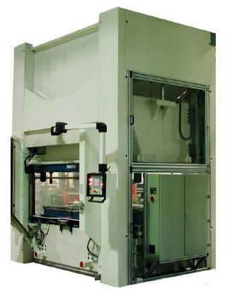 Presse à thermoformer ou découper pour le thermoformage et la découpe de tous matériaux non métalliques